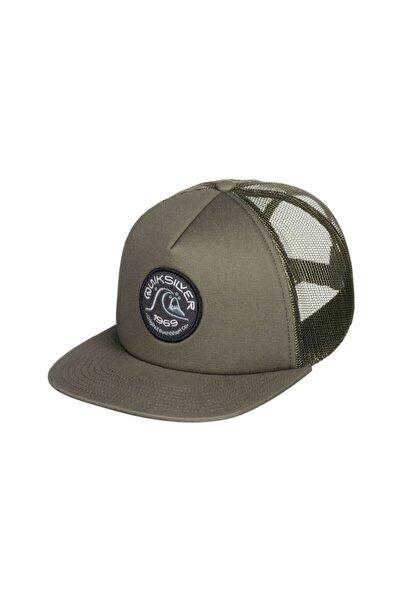 Quiksilver Erkek Yeşil Broacher Şapka
