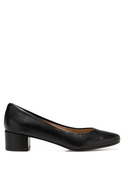 İnci Kadın Siyah Gova Ayakkabı Serrına2