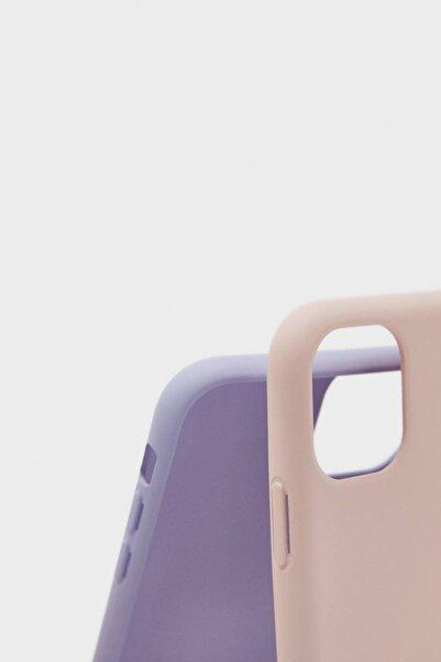Bershka Tek Renk Iphone 11 Pro Telefon Kılıfı