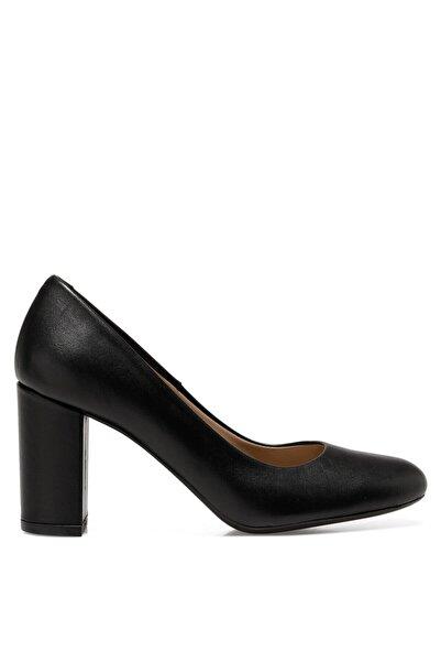 İnci Kadın  Siyah  Serım2 Gova Topuklu  Ayakkabı