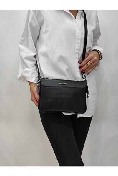 Silver Polo Kadın Siyah Postacı Çanta