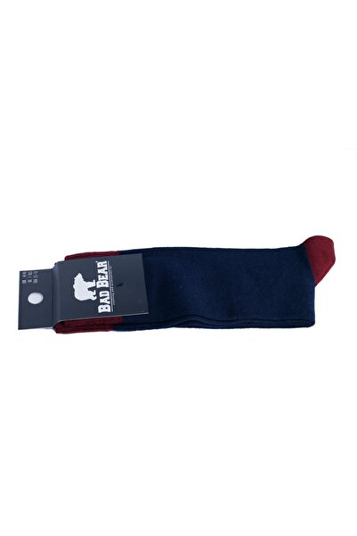 Bad Bear Lacivert Erkek Çorap SIMPLE TALL NAVY