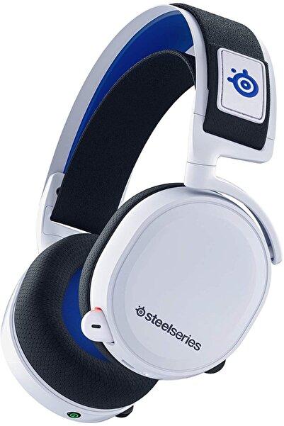 SteelSeries Arctis 7P  Oyuncu Kulaklık - 2.4 GHz Wireless Gaming Kulaklık - PS5 ve PS4 - Beyaz