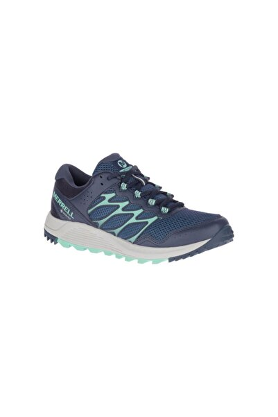 Merrell Kadın Lacivert Wildwood Gore-tex Outdoor Ayakkabı