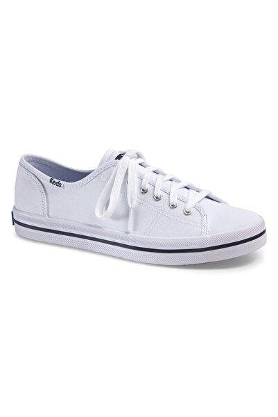 Keds Kadın Beyaz Kıckstart Seasonal Sneaker