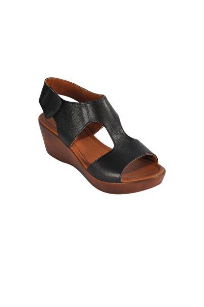 Pierre Cardin Kadın Siyah Sandalet