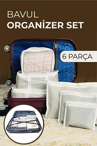 Vivyan 6'lı Bavul Organizer