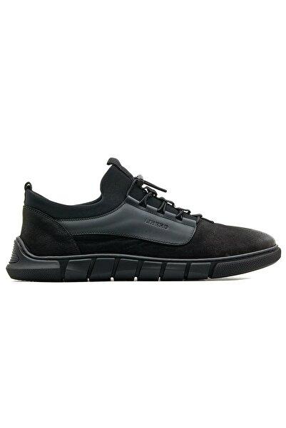 Libero Erkek Siyah Hakiki Deri Casual Ayakkabı 20k Lbr3589 M