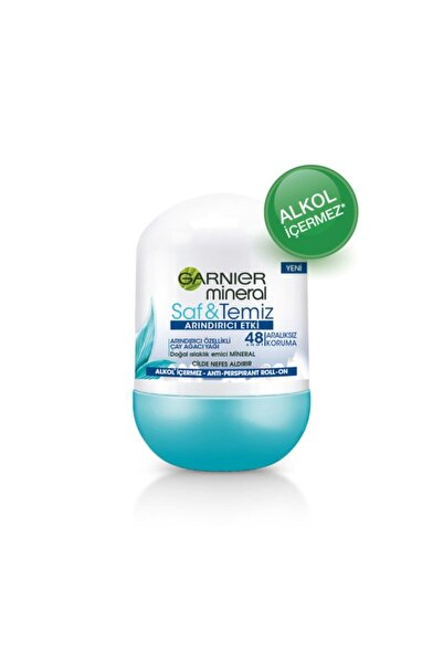 Garnier Mineral Saf&temiz Deodorant Roll-on 50 Ml