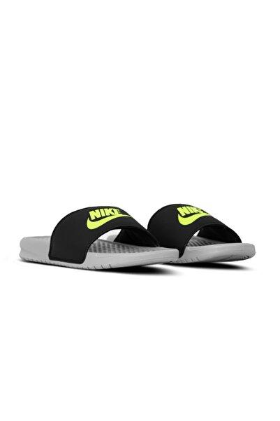 Nike Unisex Gri Benassi Print Terlik 343880 027