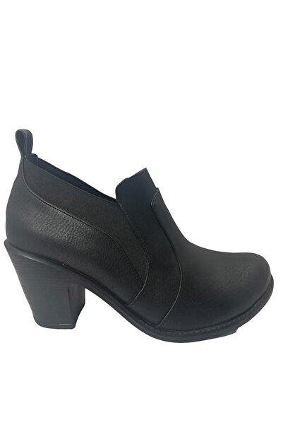 Sementa Kadın Siyah Ayakkabı