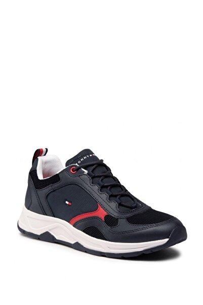 Tommy Hilfiger Erkek Siyah Fashion Mix Sneaker Ayakkabı Fm0fm02846