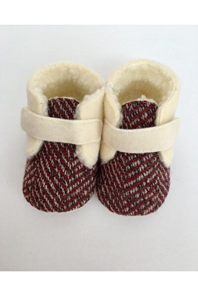 Funny Baby Kürklü Unisex Bebek Ayakkabısı