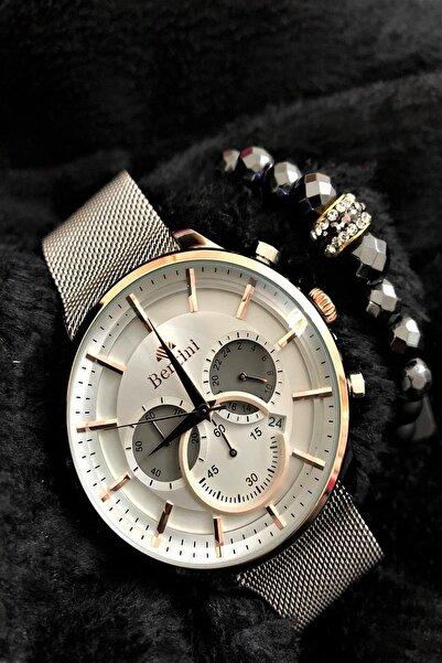 Bentini Stone Watch Concept Italyan Erkek Kol Saati + Dr Stone Bileklikdrbn11