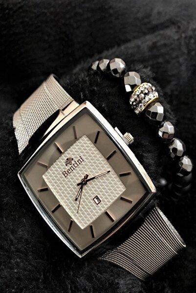 Bentini Stone Watch Concept Italyan Erkek Kol Saati + Dr Stone Bileklikdrbn13