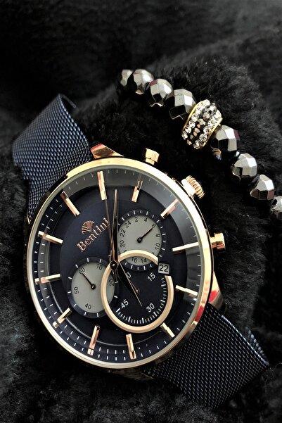 Bentini Stone Watch Concept Italyan Erkek Kol Saati + Dr Stone Bileklikdrbn12