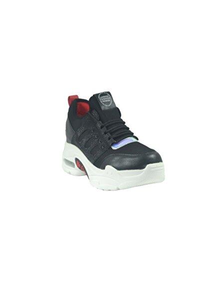 Guja Kadın Siyah Mega Kalın Taban Sneakers