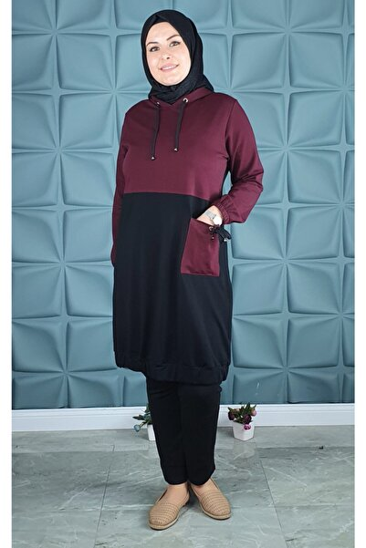 PYS Giyim Kadın Siyah Cepli Tunik 534-50