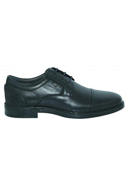 Greyder Erkek Siyah Deri Klasik Casual Ayakkabı