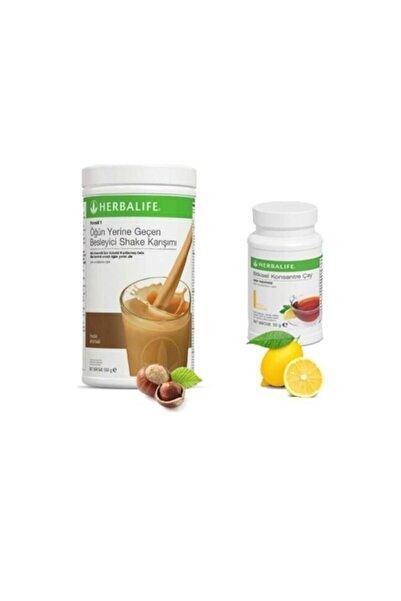 Herbalife Fındıklı Shake 1 Adet ve Çay 50 gr 1 Adet
