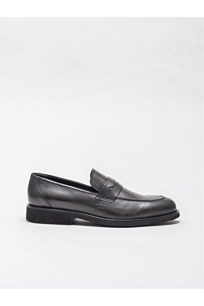 Elle Shoes Erkek Antrasit Klasik Ayakkabı