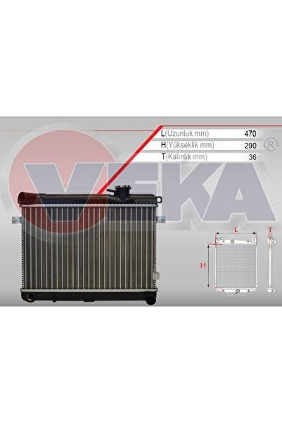 Fiat /Tofaş Veka Fiat 131 3 Sıra Süper Mekanik Su Radyatör Kapaklı