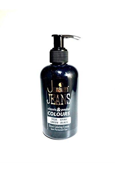 Jamaican Jean's Color Saç Boyası Yeşil-siyah Boya1030