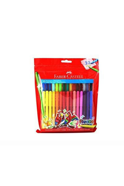 Faber Castell 30 Renk Fiesta Keçeli Kalem