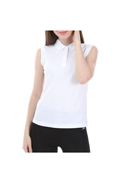 Kappa Kadın Beyaz Rdk Kadın Kolsu Wws Polo T-shirt