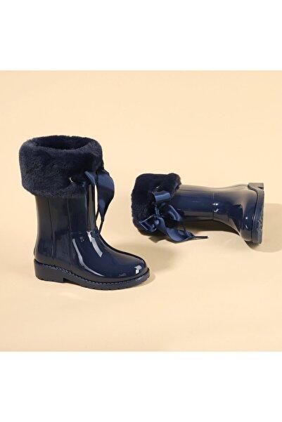 IGOR Kız Çocuk Lacivert Yağmur Kar Çizmesi W10239