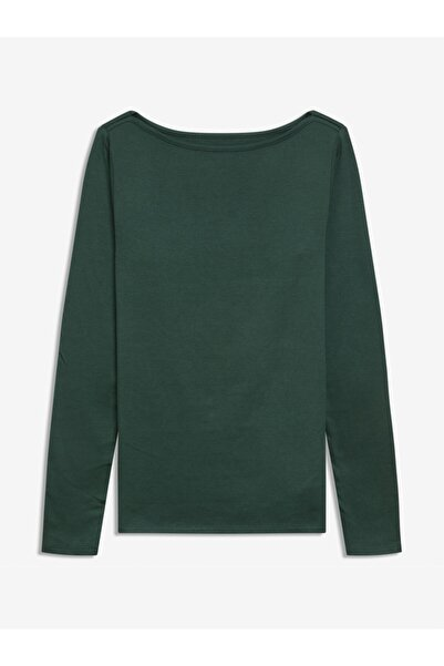 GAP Kadın Haki Modern Yuvarlak Yaka T-shirt