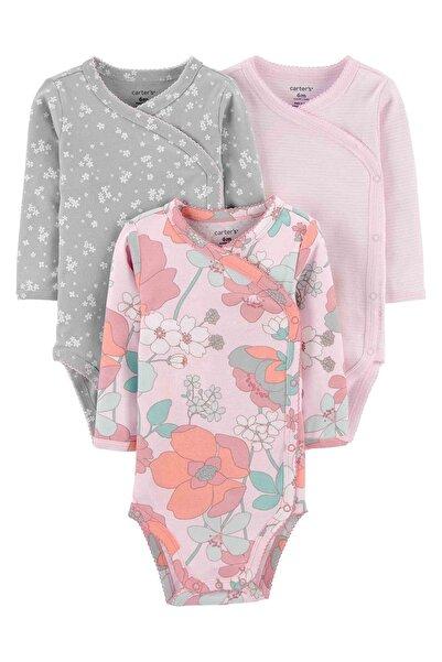 Carter's Layette Kız Bebek 3lü Body 1ı711010 Pink