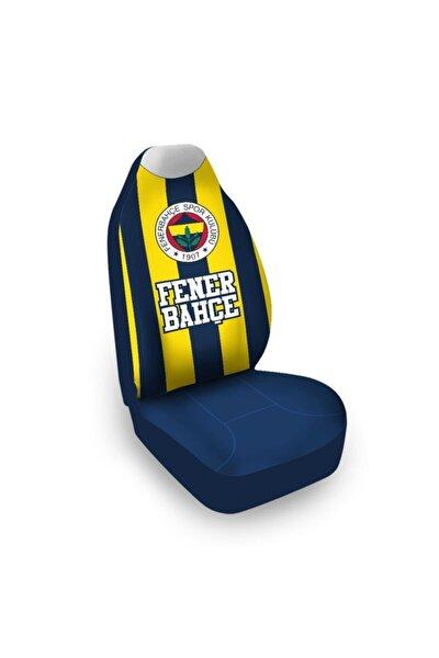 Fenerbahçe Lisanslı Çubuklu Araba Koltuk Kılıfı