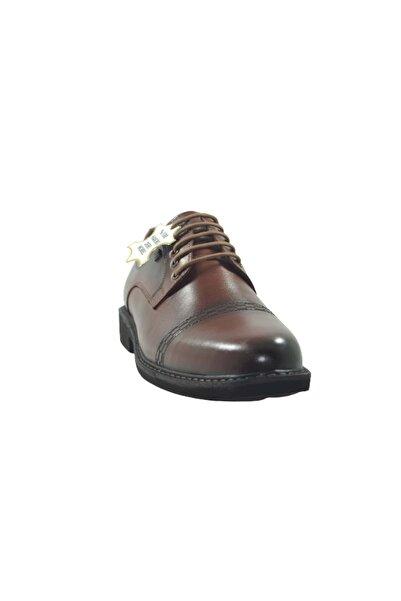 Nobel Erkek Kahverengi Bağlı Hakiki Deri Ayakkabı  St03873