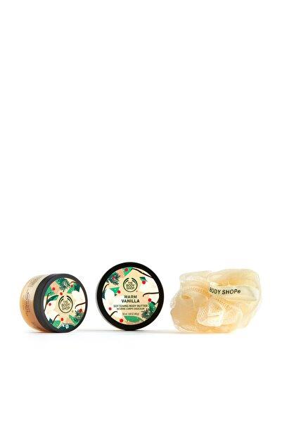 THE BODY SHOP Warm Vanilla Mini Hediye Seti  5028197953379