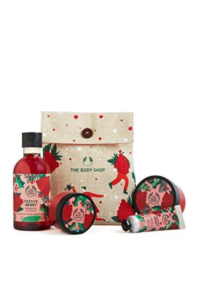 THE BODY SHOP Festive Berry Hediye Seti  5028197953416