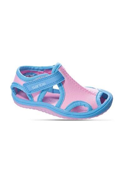 Sanbe 503 N 7201 31-35 Tekstil Sandalet-pembe