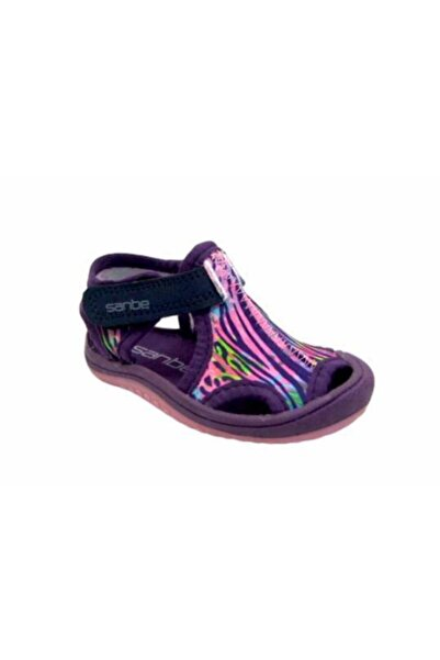 Sanbe 502 N 7204 26-30 Tekstil Sandalet-leopar