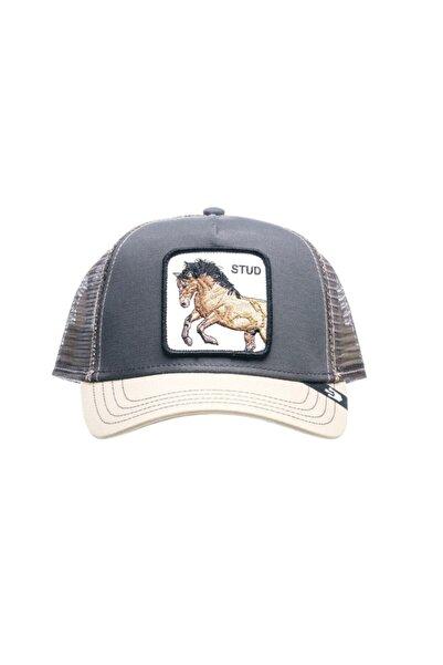 Goorin Bros Unisex Gri Baskılı Şapka