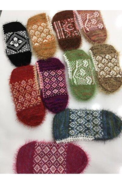 Aksuhome Kadın Yumoş Patik Çorap 10'lu Standart Kalıp Çeyizlik Bohçalık