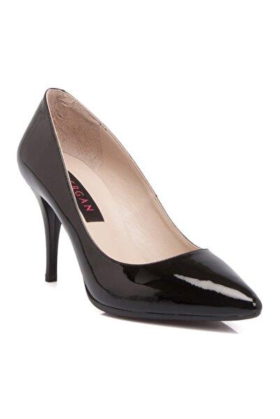 Tergan Kadın Siyah Topuklu Ayakkabı