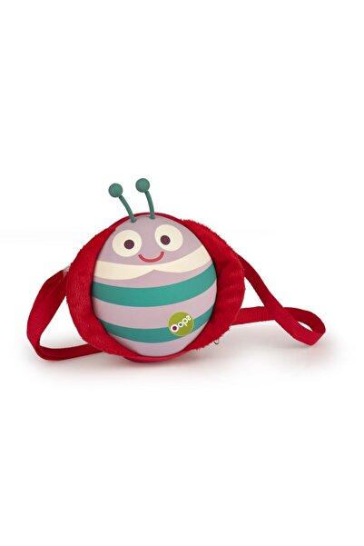 OOPS Oval Sevimli Uğur Böceği Omuz Çantası