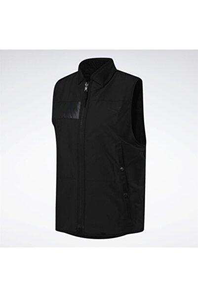 Reebok Outwear Erkek Siyah Yelek