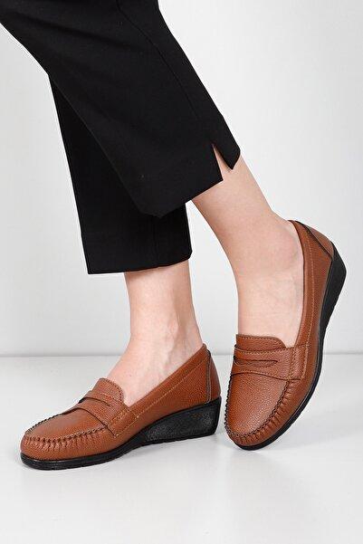 G.Ö.N Kadın Taba Günlük Ayakkabı 31030