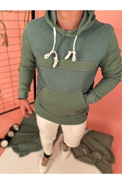 Retro Erkek Yeşil Polar