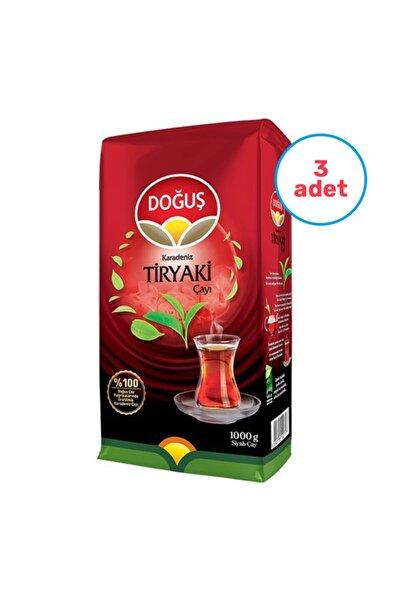 Doğuş 3 Adet Karadeniz Tiryaki Çay 1000 Gr