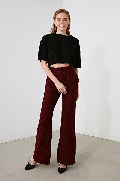 TRENDYOLMİLLA Çok Renkli Bol Paça Pantolon TWOAW21PL0711