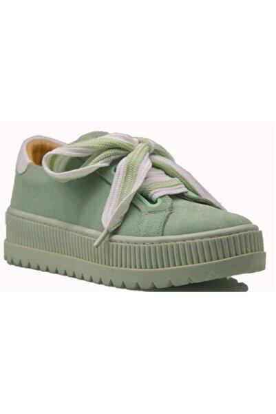 KİNG PAOLO Kadın Yeşil Ayakkabı