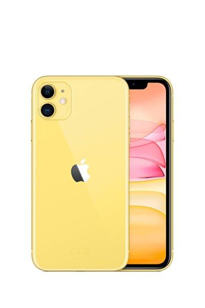 Apple iPhone 11 256GB Sarı Cep Telefonu (Apple Türkiye Garantili) Aksesuarsız Kutu