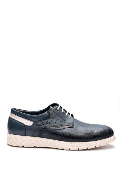 Pierre Cardin Erkek Mavi Bağcıklı Ayakkabı